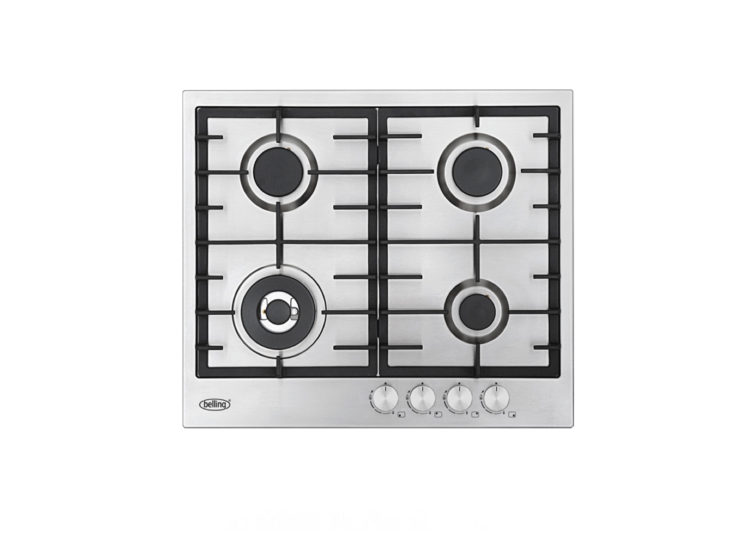 est living belling 60cm stainless steel gas cooktop 750x540