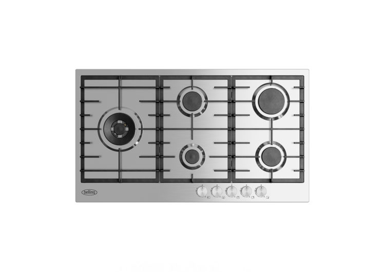 Belling 90cm Stainless Steel Gas Cooktop