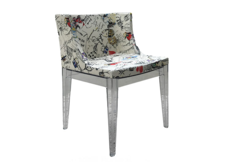 Kartell Mademoiselle A La Mode Chair Moschino