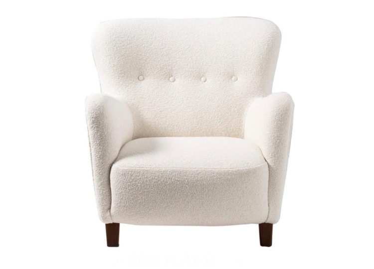 est living fritz hansen boucle armchair 750x540