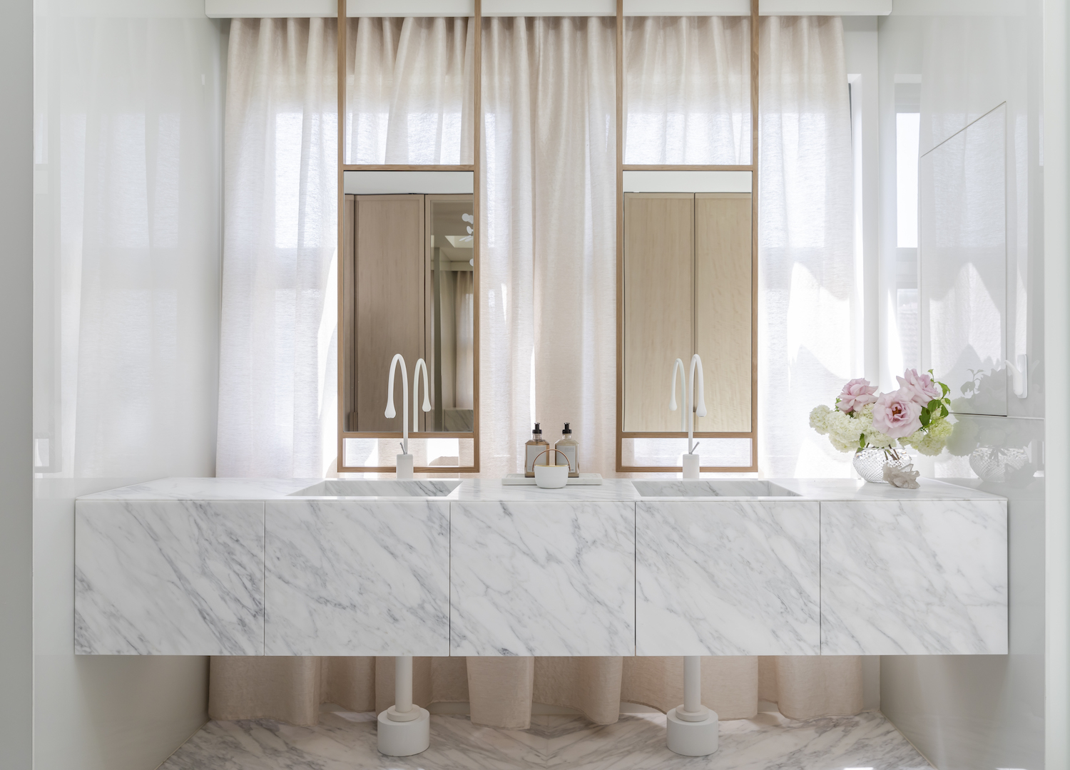 Bathroom Closeup | Hunters Hill House II by Alexandra Kidd Design