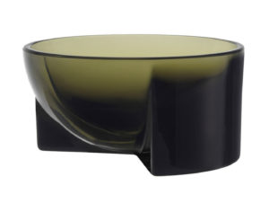 Iittala Kuru Bowl Glass 13cm Moss Green