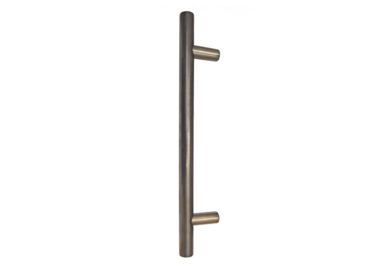 Brass Pull Handle Back to Back 300mm OA