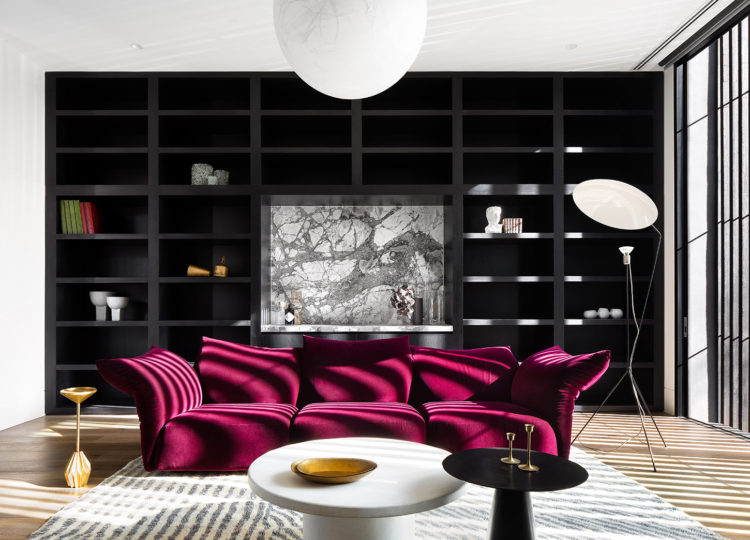 Living | Rosedale House Living Room by Cera Stribley Architecture and Interior Design