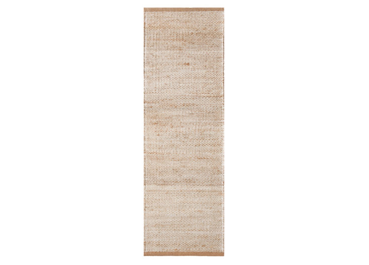 Ridge – Natural & White (Nook Rug)