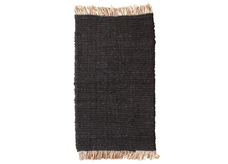 Sahara – Charcoal (Nook Rug)