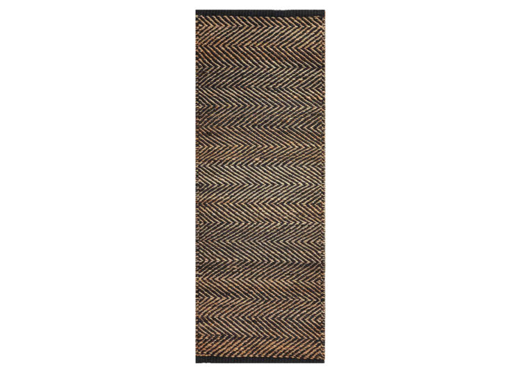 Serengetti – Charcoal & Natural (Nook Rug)