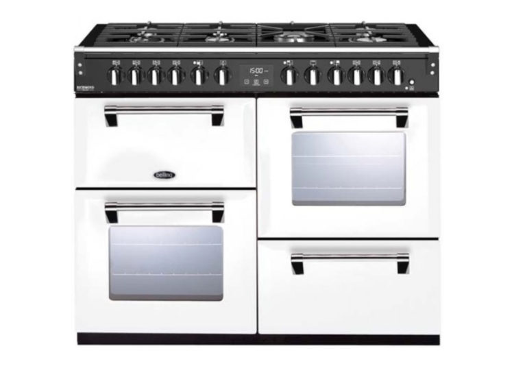 Belling Richmond Deluxe 110cm Dual Fuel Range Cooker – White