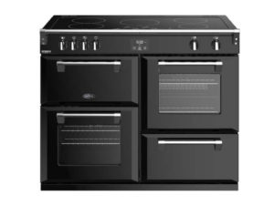 Belling Richmond Deluxe 110cm Induction Range Cooker – Black