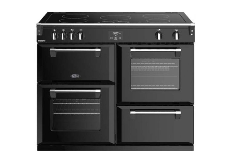 Belling Richmond Deluxe 110cm Induction Range Cooker – Black