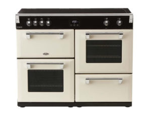 Belling Richmond Deluxe 110cm Induction Range Cooker – Cream