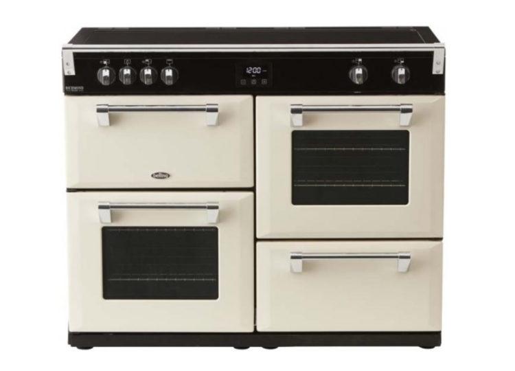 est living belling richmond deluxe 110cm induction range cooker cream 750x540