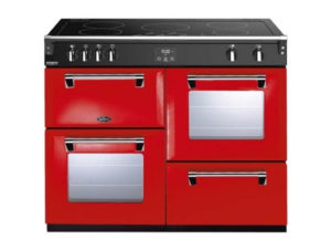 Belling Richmond Deluxe 110cm Induction Range Cooker – Red
