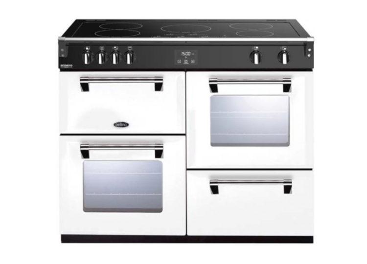 est living belling richmond deluxe 110cm induction range cooker white 750x540