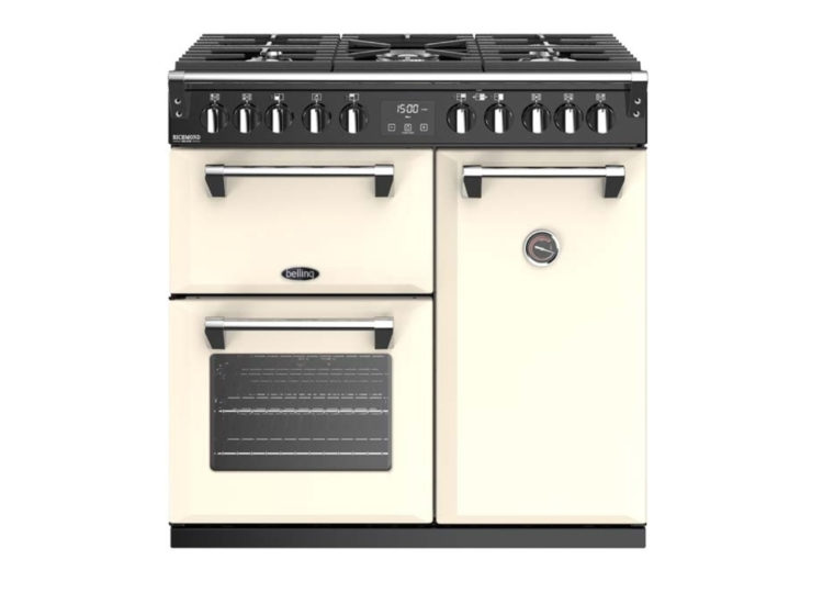 Belling Richmond Deluxe 90cm Dual Fuel Range Cooker – Cream