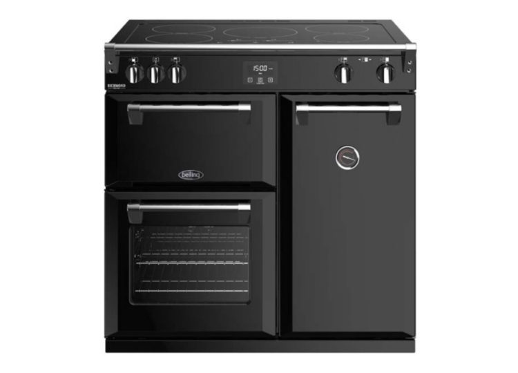 Belling Richmond Deluxe 90cm Induction Range Cooker – Black