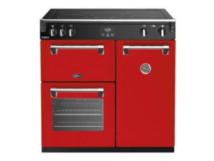 Belling Richmond Deluxe 90cm Induction Range Cooker – Red