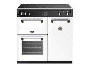Belling Richmond Deluxe 90cm Induction Range Cooker – White
