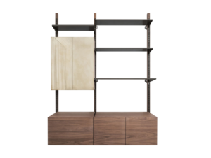 Laker Continental Shelving Unit