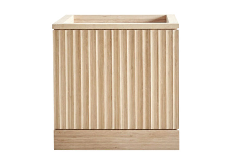 Pleat Bamboo Planter – Square