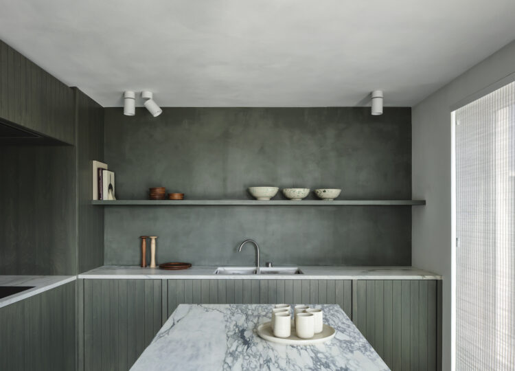 Kitchen | Belgian Apartment by Thomas Geldof and Carmine Van der Linden