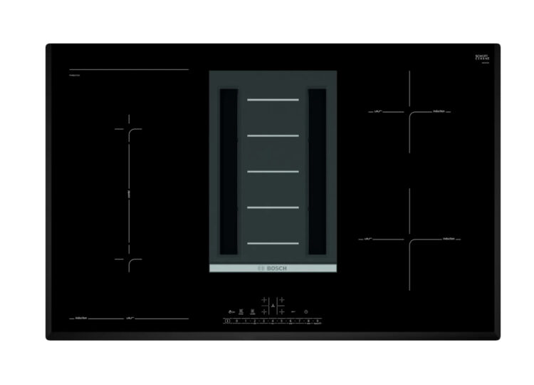 Bosch Series 6 | Induction Cooktop with Integrated Ventilation 80cm