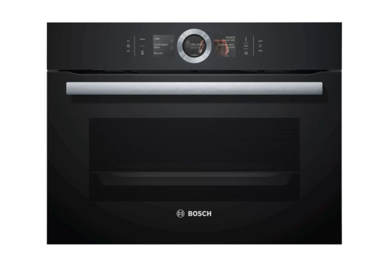 Bosch Series | 8 Built-In Compact Oven with Steam Function