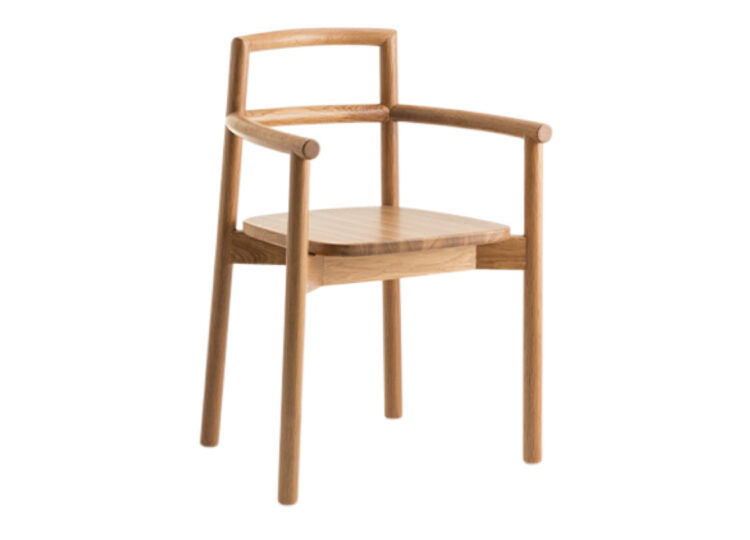 Didier Fable Oak Armchair