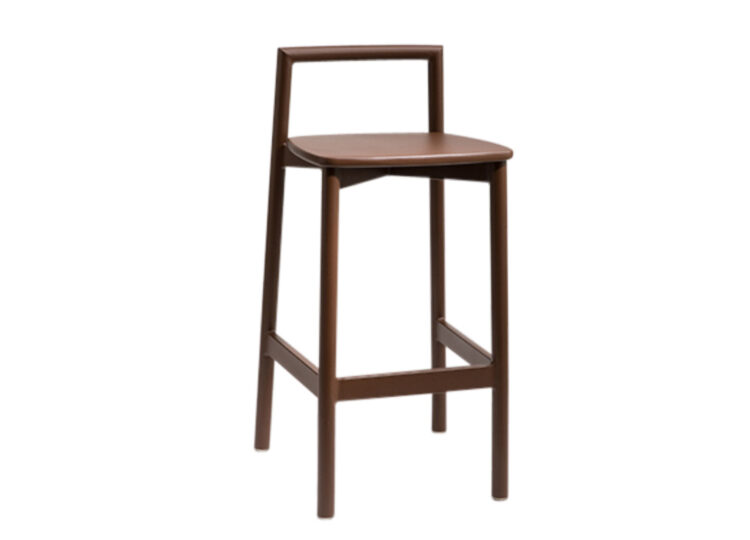 Didier Fable Oak Bar Chair