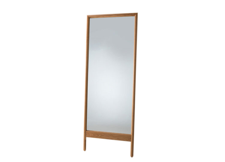 Didier Fable Oak Floor Mirror
