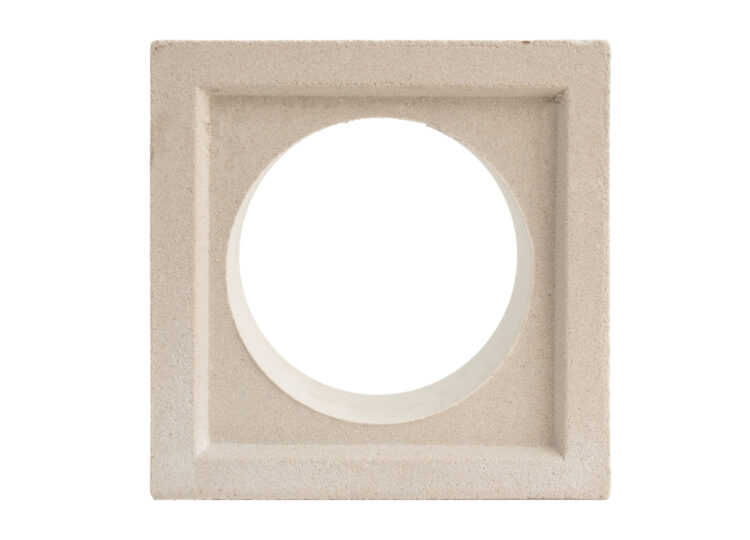 Breeze Block Ball White
