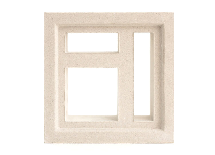 Breeze Block Maze 2 White