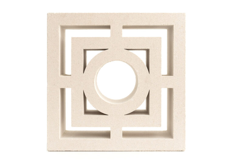 Breeze Block Sunstory White