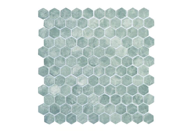 Ecostone Hex Silver