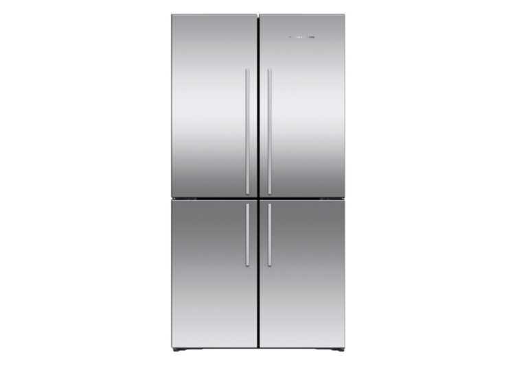 Fisher & Paykel Series 7 | 90.5cm Quad Door Refrigerator Freezer (Stainless Steel)