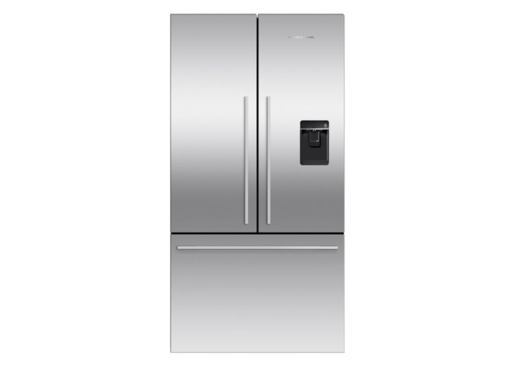 est living fisher paykel series 7 90cm french door refrigerator freezer ice water stainless steel 750x540