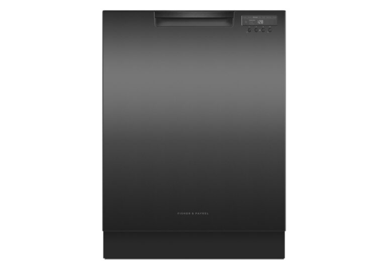 Fisher & Paykel Series 7 | Contemporary Built-under Dishwasher – Black