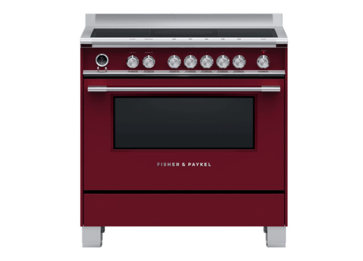 Fisher & Paykel Series 9 | 90cm Induction Cooker (Red)