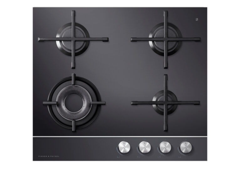 Fisher & Paykel Series 9 | Contemporary 60cm Gas on Glass Cooktop – 4 Burner