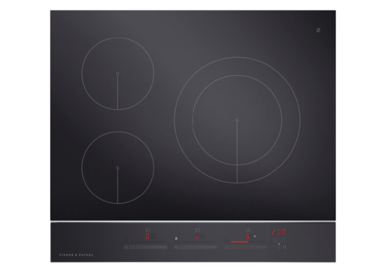 Fisher & Paykel Series 9 | Contemporary 60cm Induction Cooktop – 3 Zones