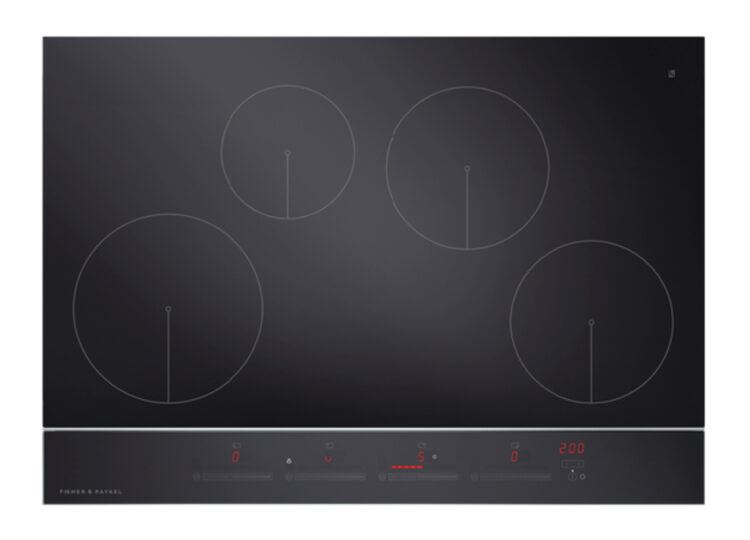 Fisher & Paykel Series 9 | Contemporary 75cm Induction Cooktop – 4 Zones