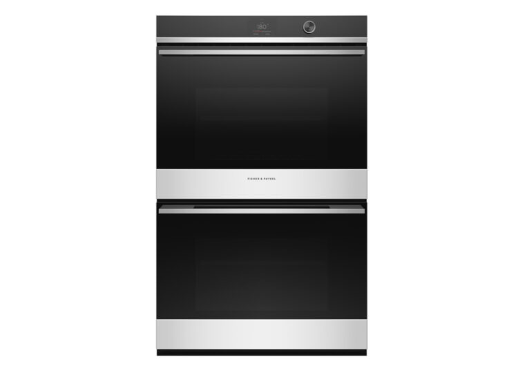 Fisher & Paykel Series 9 | Contemporary 76cm Double Oven – 17 Function