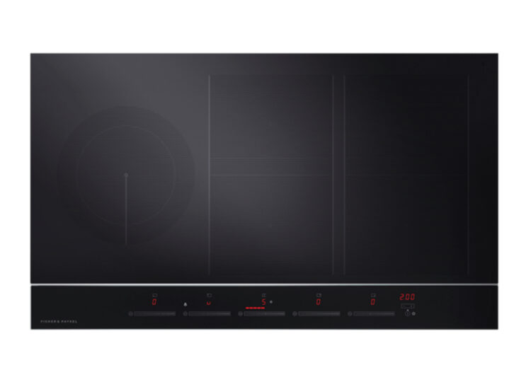 Fisher & Paykel Series 9 | Contemporary 90cm Induction Cooktop – 5 Zones