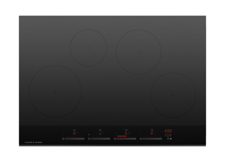 Fisher & Paykel Series 9 | Minimal 76cm Induction Cook Top – 4 Zones