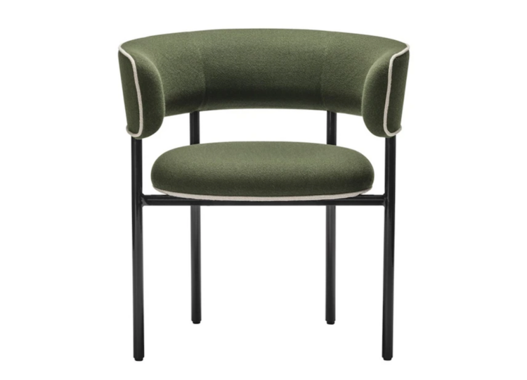 Møbel Copenhagen Font Regular Dining Chair with Armrest