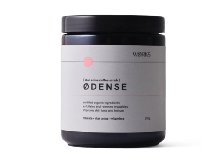 ØDENSE Star Anise Coffee Scrub by WØRKS