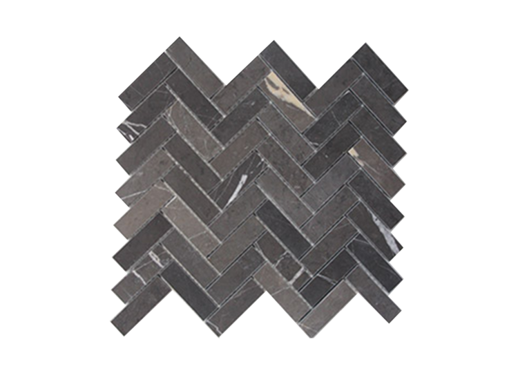 Pietra Grey Honed Herringbone