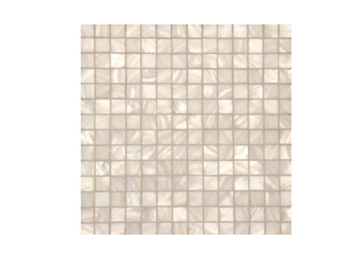est living surface gallery pearl white square mosaic tile 750x540