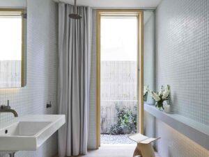 Bathroom 2   Tree House Bathroom by Madeleine Blanchfield Architects