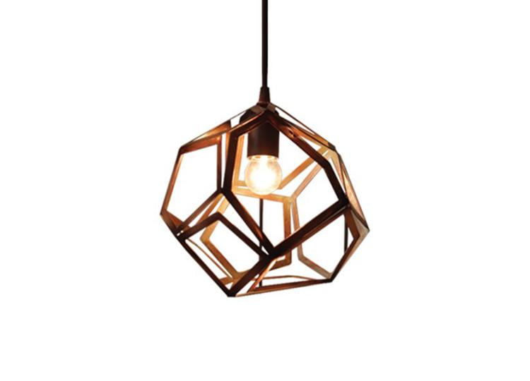 Industria Cubico Mini Infisso Hanging Pendant Lamp